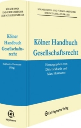 Kölner Handbuch zum Gesellschaftsrecht